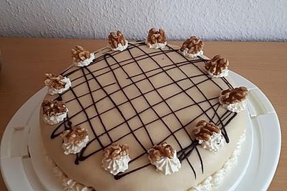Walnuss - Marzipan - Torte 1