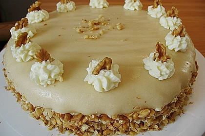Walnuss - Marzipan - Torte 18
