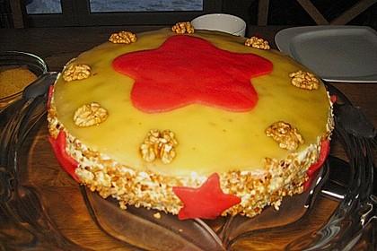 Walnuss - Marzipan - Torte 50