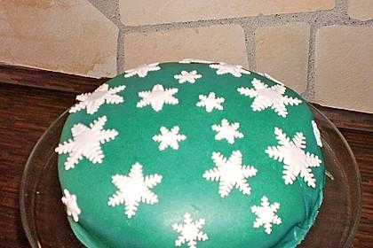 Walnuss - Marzipan - Torte 32