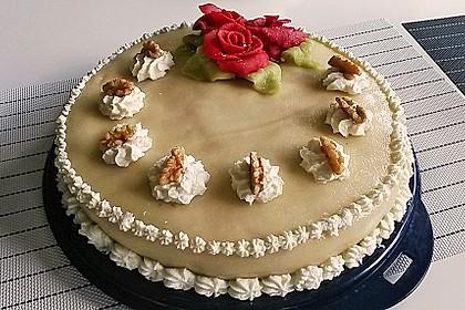 Walnuss - Marzipan - Torte