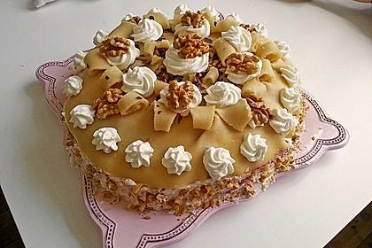 Walnuss - Marzipan - Torte 9