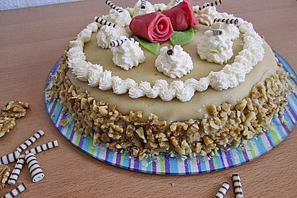 Walnuss - Marzipan - Torte 7