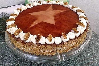 Walnuss - Marzipan - Torte 29