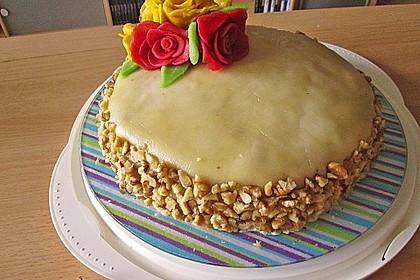 Walnuss - Marzipan - Torte 20