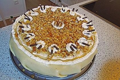 Walnuss - Marzipan - Torte 40