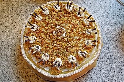 Walnuss - Marzipan - Torte 30