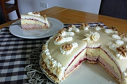 Walnuss - Marzipan - Torte 2