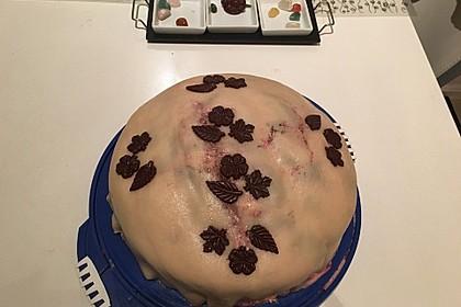 Walnuss - Marzipan - Torte 45