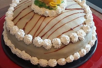 Walnuss - Marzipan - Torte 27
