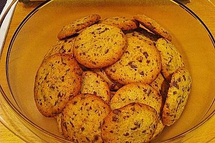Schoko Cookies 19