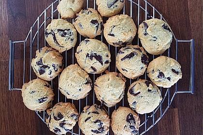 Schoko Cookies 13
