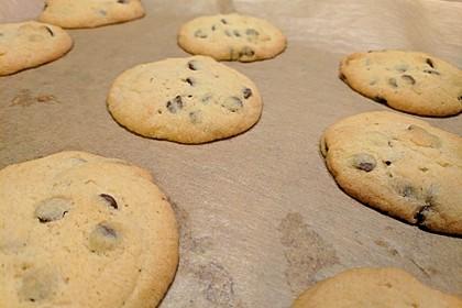 Schoko Cookies 16