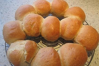 Partybrötchen mit Frischkäse
