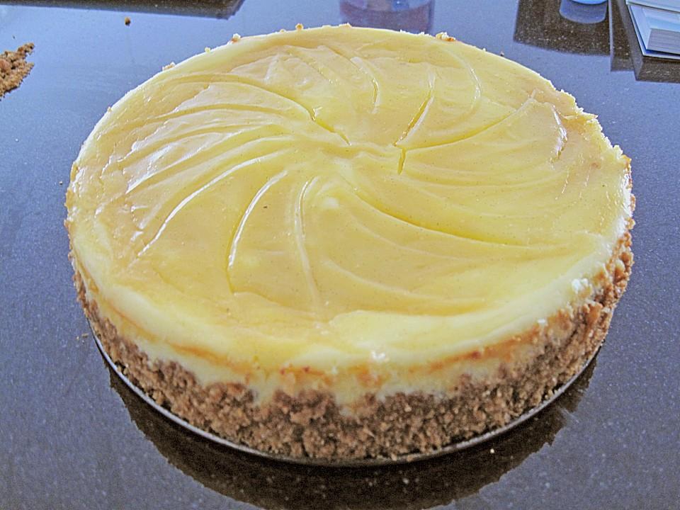 Cheesecake Mit Lemon Curd Fullung Von Pinktroublebee Chefkoch De