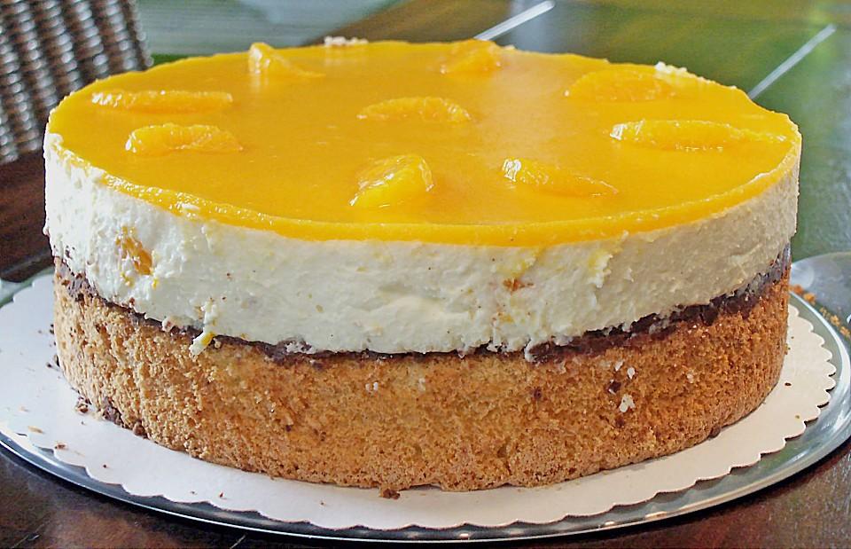 Urmelis Fruchtig Frische Mandarinen Joghurt Torte Von Urmeli75