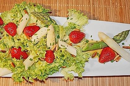Spargelsalat mit Erdbeeren 1