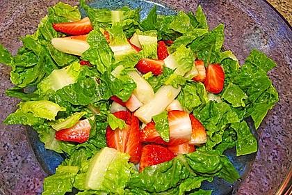 Spargelsalat mit Erdbeeren 2