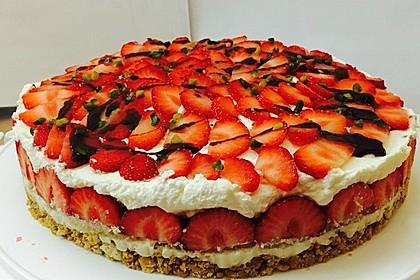 Erdbeer - Frischkäse - Torte 1