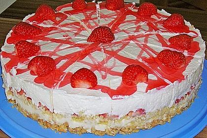 Erdbeer - Frischkäse - Torte 9