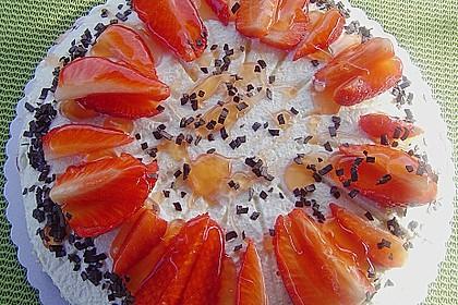 Erdbeer - Frischkäse - Torte 16