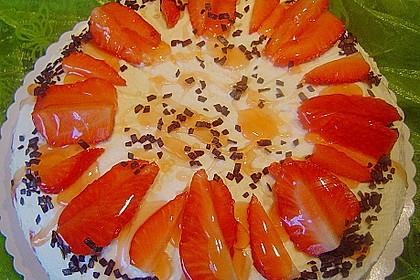 Erdbeer - Frischkäse - Torte 25