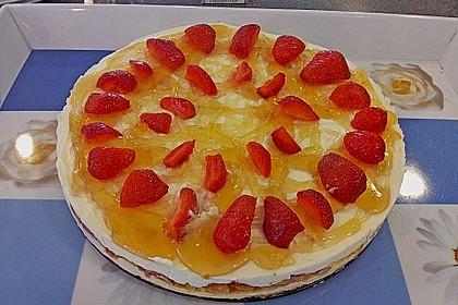 Erdbeer - Frischkäse - Torte 19