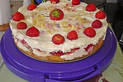 Erdbeer - Frischkäse - Torte 18