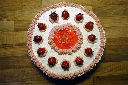 Erdbeer - Frischkäse - Torte 17