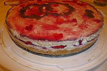 Erdbeer - Frischkäse - Torte 26