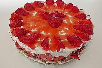 Erdbeer - Frischkäse - Torte 15