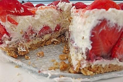 Erdbeer - Frischkäse - Torte 23