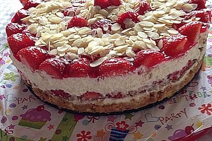 Erdbeer - Frischkäse - Torte 12