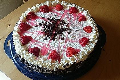 Erdbeer - Frischkäse - Torte 11
