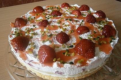 Erdbeer - Frischkäse - Torte 21