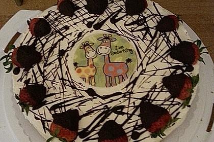Erdbeer - Frischkäse - Torte 5