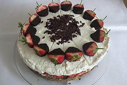 Erdbeer - Frischkäse - Torte 3