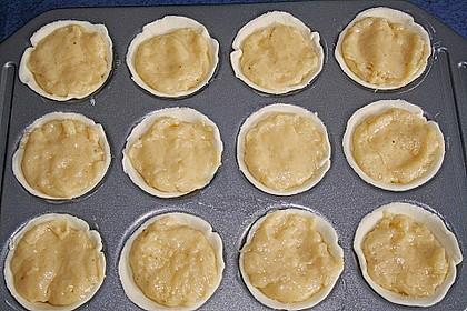 Portugiesische Puddingtörtchen 12