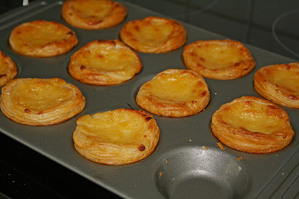 Portugiesische Puddingtortchen Chefkoch De
