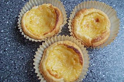 Portugiesische Puddingtörtchen 10