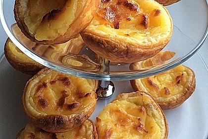 Portugiesische Puddingtörtchen 1