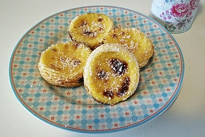 Portugiesische Puddingtörtchen 3