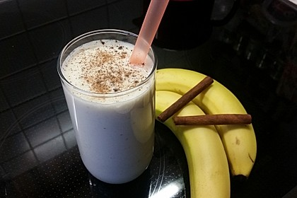 Bananen - Zimt - Shake 4