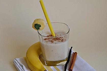 Bananen - Zimt - Shake