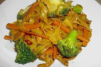 Woknudeln - vegetarisch 3
