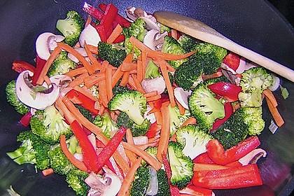 Woknudeln - vegetarisch 4