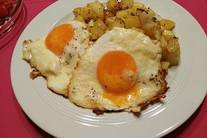 Eier in Sahne - gebacken 9