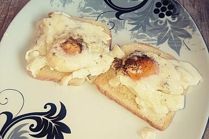 Eier in Sahne - gebacken 10