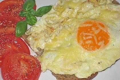 Eier in Sahne - gebacken 13