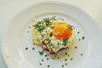 Eier in Sahne - gebacken 3